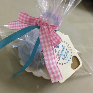 baby shower door gift idea