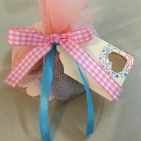 baby shower door gift packaging idea