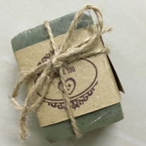 garden theme packaging idea soap favours