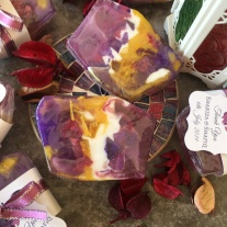 Lavender Gemstone Soap