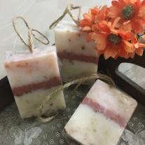 lavender soap rustic theme