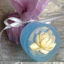 lotus flower soap wedding favor