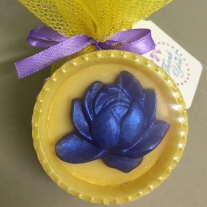 lotus flower soap yellow colour jasmine scented