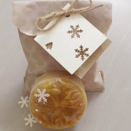 oat and honey soap favour
